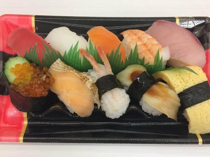 ライフ天神橋店・握り寿司