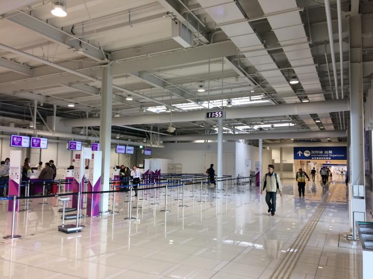 関西空港・ターミナル2・国際線・ピーチ航空