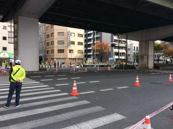 大阪マラソン・千日前通り