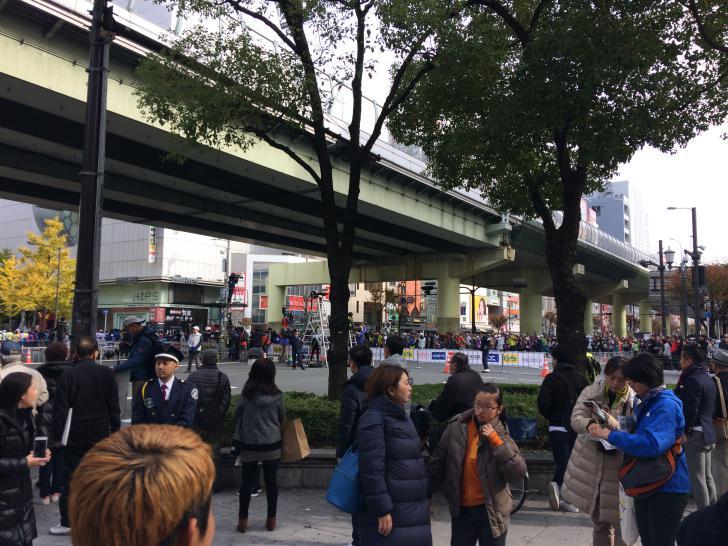 大阪マラソン・御堂筋・難波