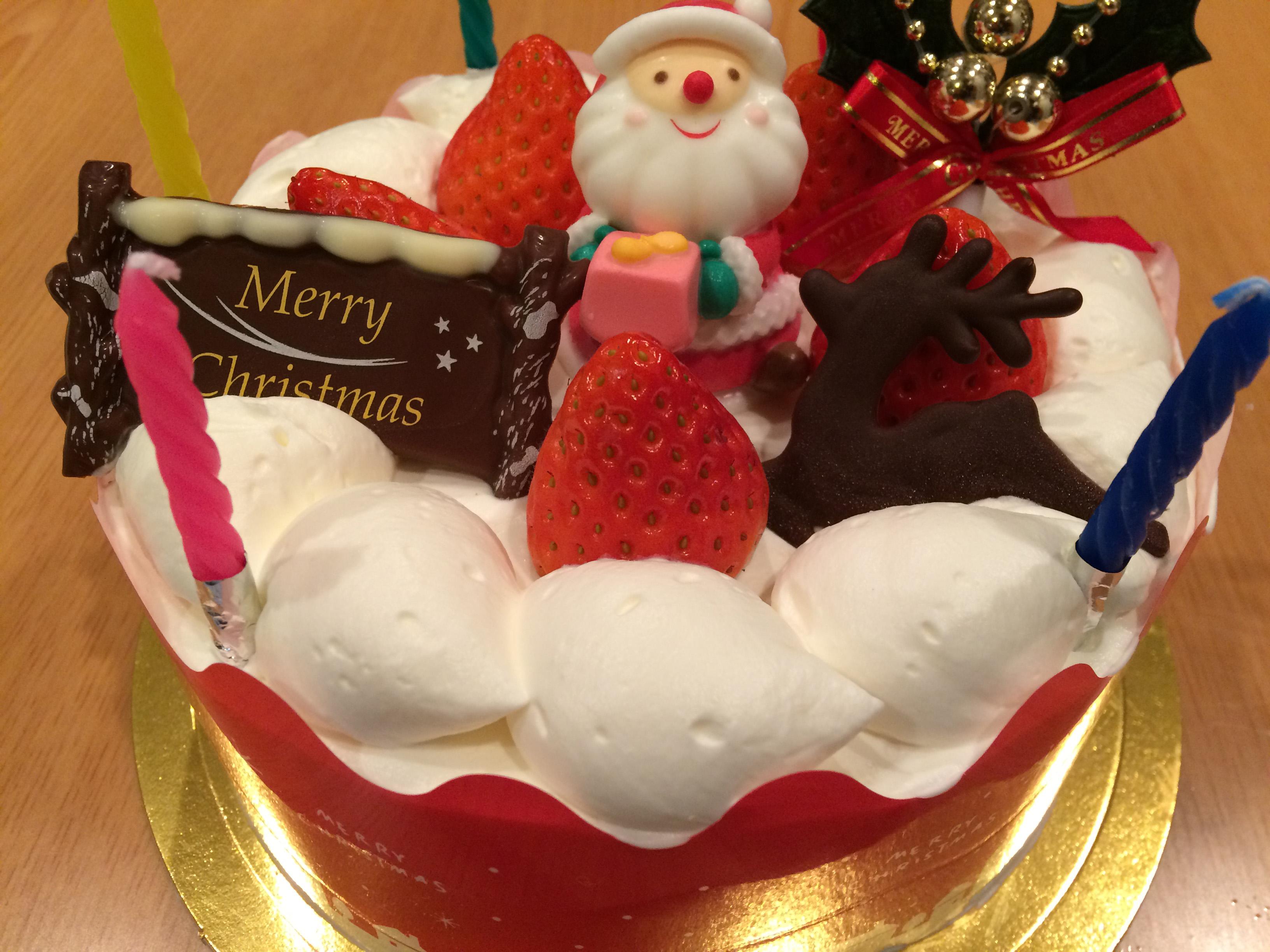 ノーエッグ・クリスマスケーキ