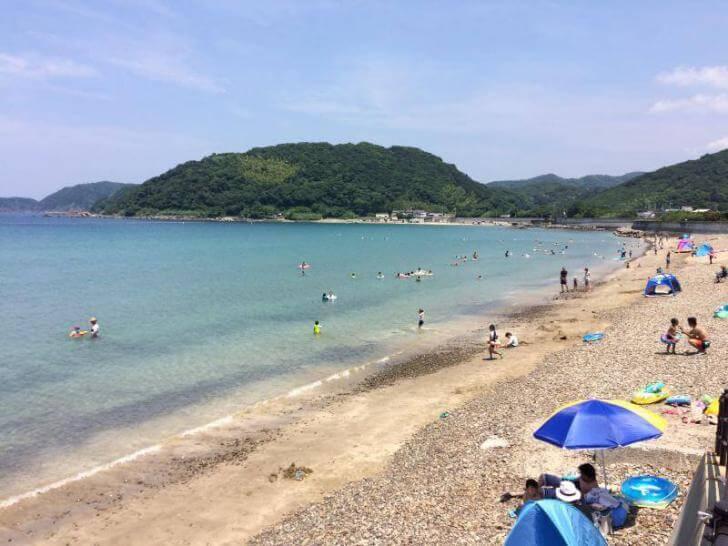 和歌山の穴場ピーチ・産湯海水浴場