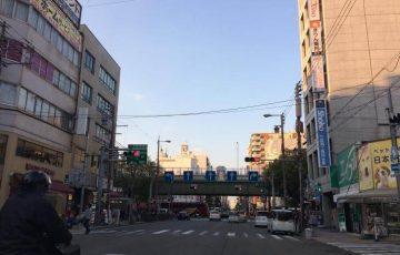 堺筋 日本橋1の手前