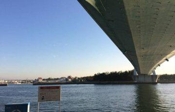 舞洲の常吉大橋