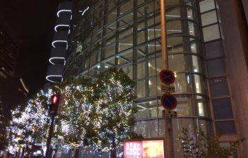 大阪駅前の夜景-2017-1226
