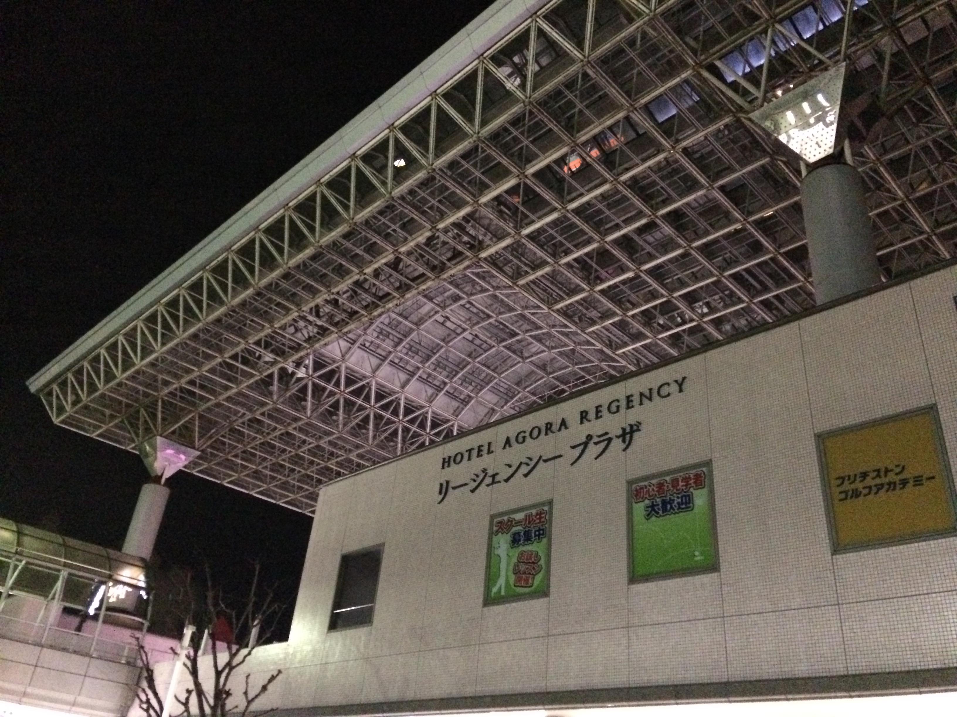 ハイアットリージェンシー堺の夜景-2018