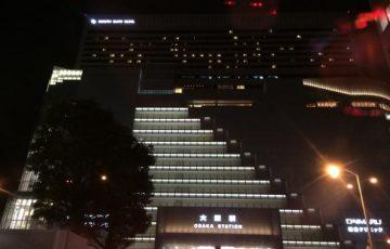 大阪駅の夜景-2018-0121