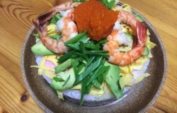 ひな祭り寿司-2018