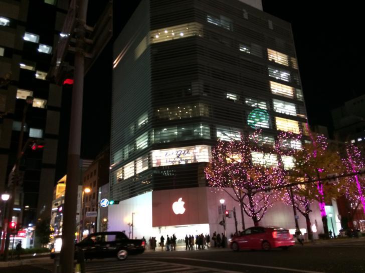アップルストア心斎橋-2018-0327