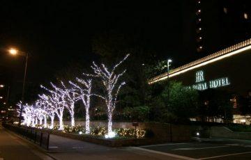 リーガロイヤルのクリスマス-2018-1130