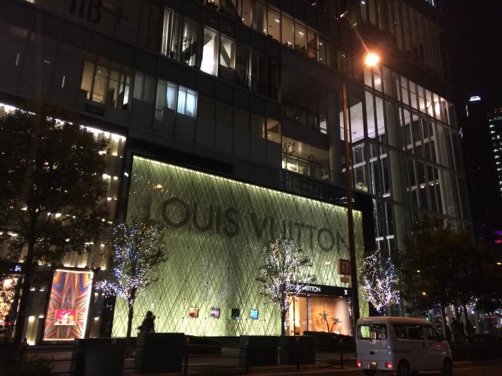 梅田のLouis Vuitton大阪-2018-1219