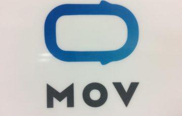 MOVの営業マンに会えたぞ