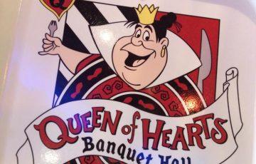 クイーン・オブ・ハートのバンケットホール・QUEEN df HEARTS